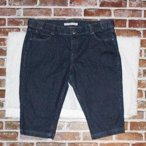 Old Navy Bermuda Denim Shorts Size 18